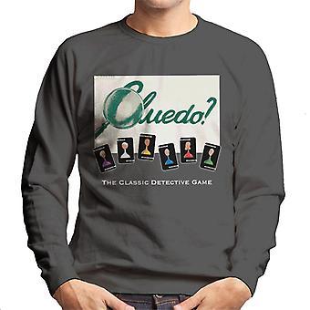 Hasbro Cluedo Classic Detective Game Men's Sweatshirt