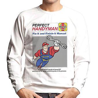 Haynes Handyman Fix It And Finish It Manual Men's Sweatshirt
