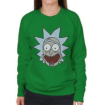Rick og Morty Rick portræt kvinder ' s sweatshirt