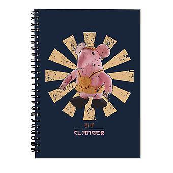 Clanger Retro Japansk Spiral Notebook