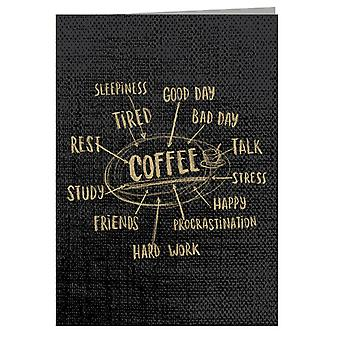 Reasons To Drink Coffee Greeting Card