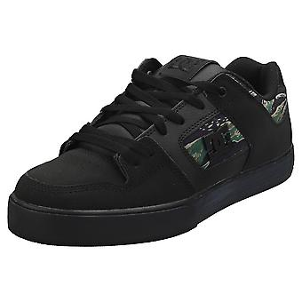 DC Shoes Pure Se Mens Skate Trainers in Black