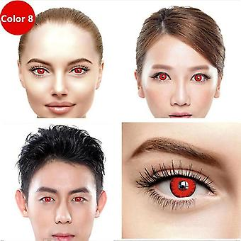 Halloween Cosplay Colored Contact Lens For Eyes Cosmetic Contact Lenses Eye Color Yearly Use