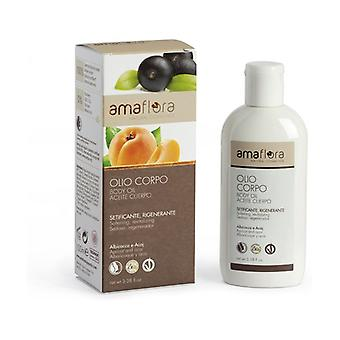 Apricot and Acaj Silky Body Oil 100 ml of oil