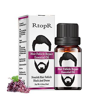 Professional Men Beard Growth Enhancer Essential Oil For Facial Nutrition