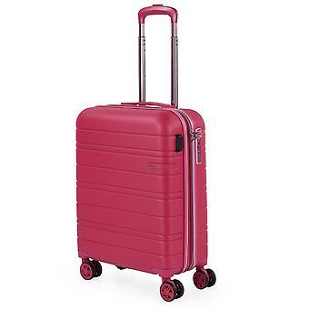 JASLEN San Marino Handbagage Trolley S, 4 Wielen, 39 cm, 50 L, Roze