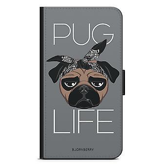 Bjornberry Wallet Case LG G5 - Pug Life