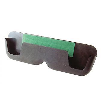 Eyeglass holder Unisex self-adhesive 17 x 5 cm black