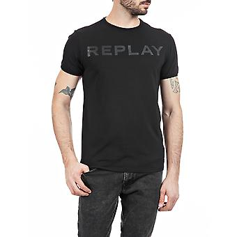 Replay Men's Crewneck T-paita