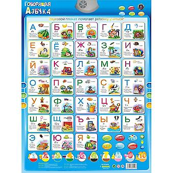 Electronic Russian Language Learning Machine - Abc Alphabet Sound Chart