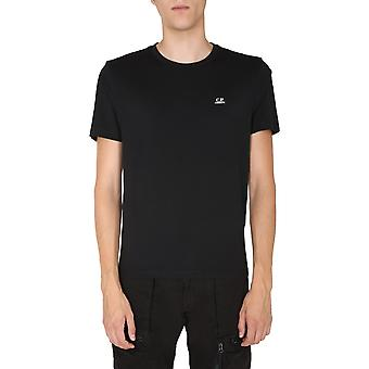 C.p. Company 09cmts192a005100w999 Männer's schwarze Baumwolle T-shirt