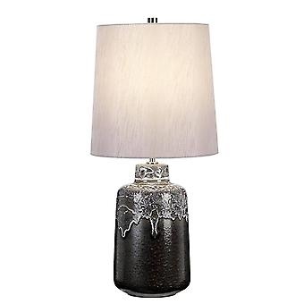 Elstead Woolwich - 1 lámpara de mesa ligera, E27