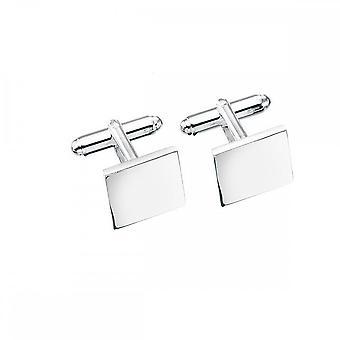 بدايات الجنيه الاسترليني الفضة الصلبة مربع Cufflink Cufflinks V124