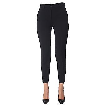 Boutique Moschino 031758240555 Dames's Black AcetaatBroek