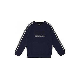 EA7 Boys EA7 Boy's Navy Sweatshirt