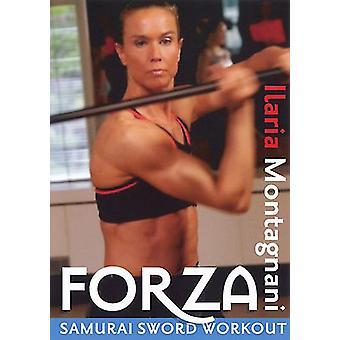 Powerstrike: Forza Samurai Sword Workout [DVD] USA import