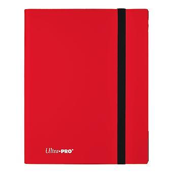 9-Pocket Eclipse Apple Red Pro-Binder