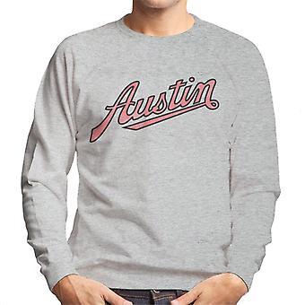 Austin Vintage Logo British Motor Heritage Men's Sweatshirt
