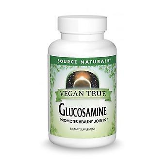 مصدر Naturals النباتي صحيح الجلوكوزامين، 750 ملغ، 60 علامات التبويب