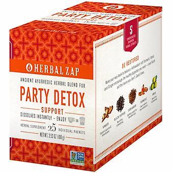 Herbal Zap Ayurvedic Party Detox Supplement, 25 Count