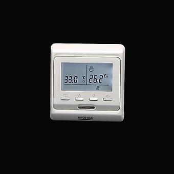 220v Lcd Programmable Electric Digital Floor Heating Air Thermostat Floor Warm Controller