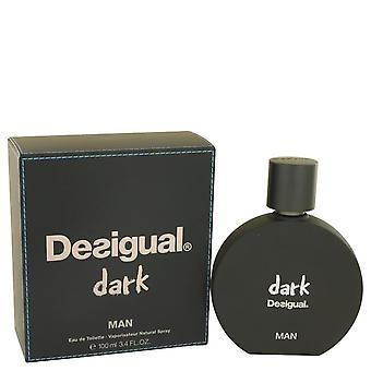 Desigual Dark Eau De Toilette Spray von Desigual 3.4 oz Eau De Toilette Spray