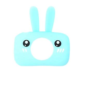 1ks Baby Cartoon Camera Case Rabbit / Bear, Cartoon Kolokácie kamery gumy,