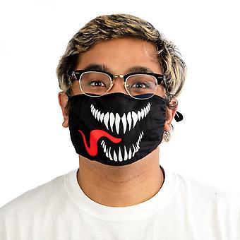Copertina viso regolabile Marvel Venom