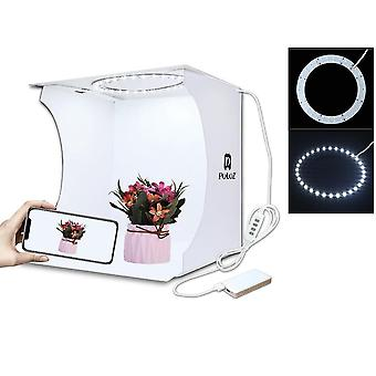 Mini Ring Folding Portable Photo Studio Lightbox - Studio Shooting Tent Box Kit
