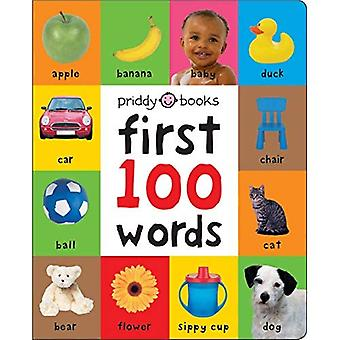 First 100 Words Padded (Large) (First 100) [Board book]