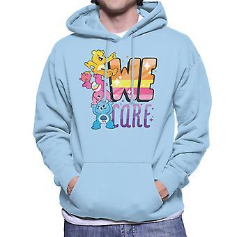 Care Bears Unlock The Magic We Care Men's Hooded Sweatshirt