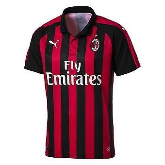 Puma AC Milan Kotipaita Replica 75441906 jalkapallo kesä miesten t-paita