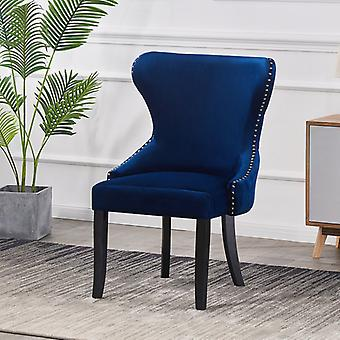 Madison Lux Velvet Ruokailutuoli Royal Blue