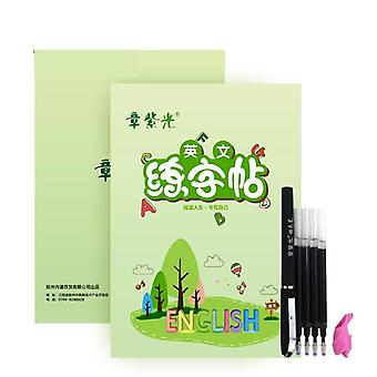 Calligraphy Books Word's Book Handwriting Writing Learning English Practice