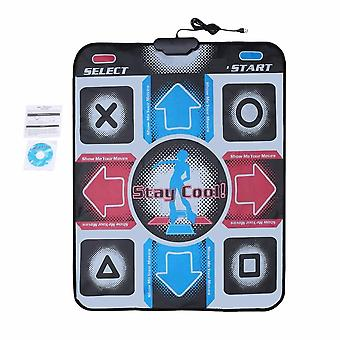 Dance Pad, Dancing Step Mats, Dancer Equipment, Hd Non-slip Foot Print To Pc