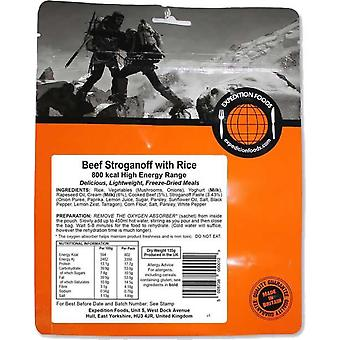 Expedition Foods Beef Stroganoff con riso - 800kcal