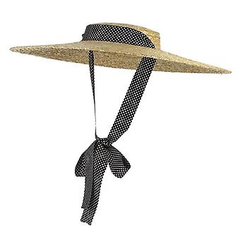 Nouveaux chapeaux d'été brim paille