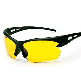 Jazda ochronne koła zębate Okulary przeciwsłoneczne Yellow Lens Ultra Light Frame