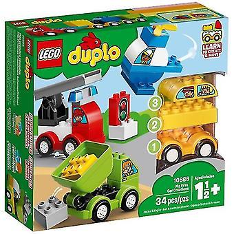 10886 LEGO my first car creations