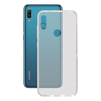 Mobile cover Huawei Y6 2019 Contact Flex TPU Transparent