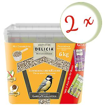 Sparset: 2 x FRUNOL DELICIA® Delicia® Sunflowers, 6 kg
