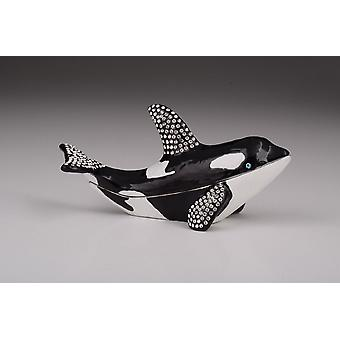 Orca Wal Design-Schmuck-Box