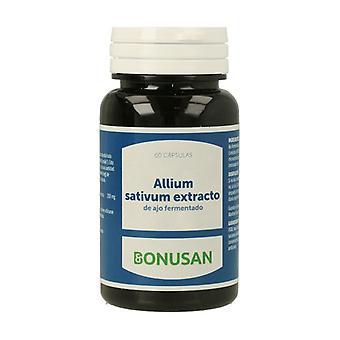 Allium Sativum (Black Garlic) 60 vegetable capsules