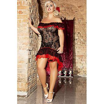 Φλαμένκο φόρεμα S/3018 Μέγεθος: 54/56