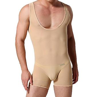 Men's Bodysuit Shaper High Elastic Fabric Corsets