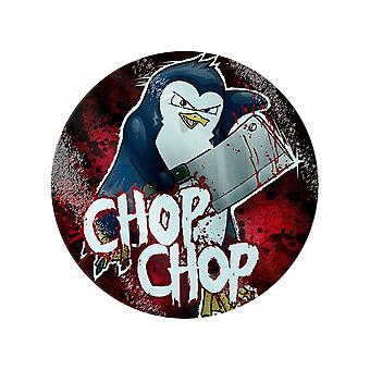 Psycho Penguin Chop Chop Glass Skjærebrett