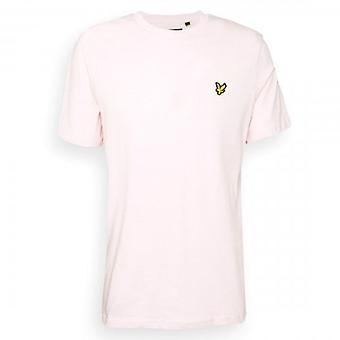 Lyle & Scott Plain Crew Hals T-Shirt Stonewash Rosa TS400VOG