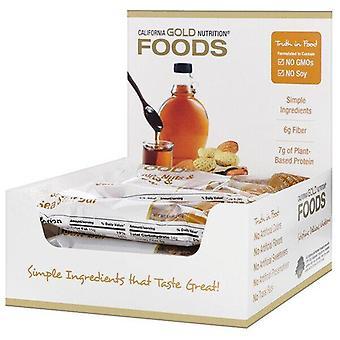 California Gold Nutrition, Foods, Maple, Nuts & Sea Salt Bars, 12 Bars, 1.4 oz (40 g) Each