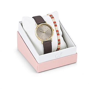 Women's Watch Go Girl Only Watches 698659 - Brown Leather Bracelet