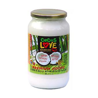 Coconut Love Coconut Oil (100% Virgin) Organic 1000 ml of cream